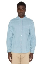 Stussy Denim Button Down Blue