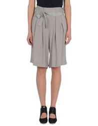 Adidas Slvr Knee Length Skirts Light Grey