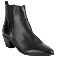 Alice By Temperley Somerset By Alice Temperley Parbrook Pointed Ankle Boots Black Leather