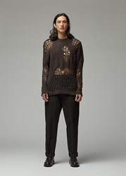 Our Legacy Popover Roundneck Sweater Dark Brown