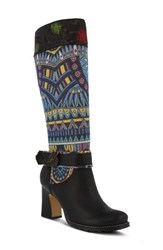 L Artiste Women's L'artiste Natalia Boot Black Leather