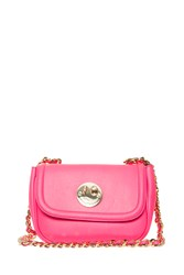 Hill And Friends Happy Leather Cross Body Bag Pink
