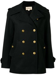 Denim And Supply Ralph Lauren Double Breasted Peacoat Black