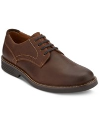 G.H. Bass And Co. Men's Howell Plain Toe Oxfords Created For Macy's Men's Shoes Dark Brown