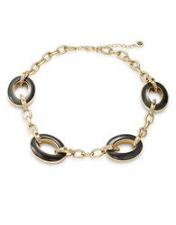 House Of Harlow Vivian Pave Statement Necklace Gold