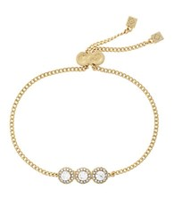 Cole Haan Three Stone Bracelet Gold