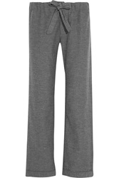 Bodas Montana Herringbone Brushed Cotton Pajama Pants