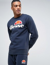 Ellesse Sweatshirt With Classic Logo Navy