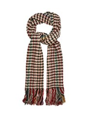 Isabel Marant Alva Wool And Cashmere Blend Scarf Multi
