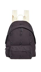 Eastpak Rs Padded Loop Backpack Anthracite Yellow