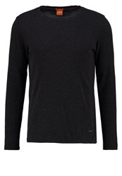Boss Orange Terris Slim Fit Long Sleeved Top Black