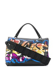 Zanellato Graffiti Print Shoulder Bag 60