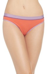 Exofficio Women's Give N Go Sport Thong Hot Coral