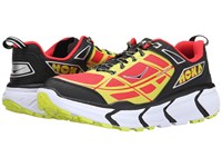 Hoka One One Challenger Atr Black Poppy Red Men's Running Shoes