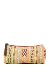 T Shirt And Jeans Aztec Print Cosmetic Case Multi