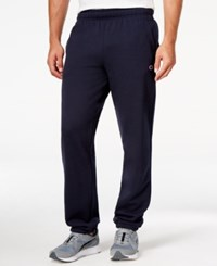 Champion Men's Powerblend Fleece Relaxed Pants Navy