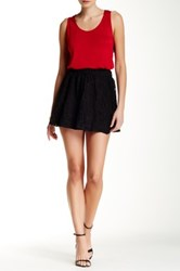 Jack Melvin Lace Skirt Black
