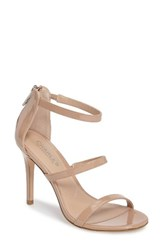 Charles By Charles David Women's Ria Strappy Sandal Nude Patent Leather