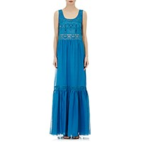 Philosophy Di Alberta Ferretti Women's Embellished Maxi Dress Size 0 Us No Color