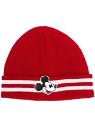 Gcds Mickey Mouse Beanie Hat Red