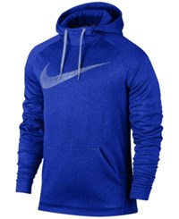 Nike Men's Therma Training Hoodie Deep Royal Blue