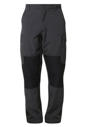 Craghoppers Bear Survivor Cargo Trousers Black Pepper Black Dark Gray