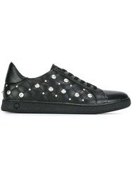 Versus Studded Detail Sneakers Black