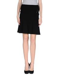 Nougat London Knee Length Skirts Black