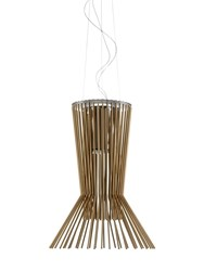 Foscarini Allegretto Viviace Suspension Lamp Brown