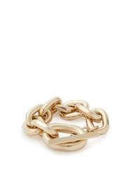 Paco Rabanne Oversized Chain Link Bracelet Gold