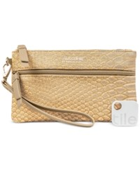 Kenneth Cole Reaction Forget Me Not Tech Wristlet With Tracker Antique
