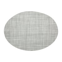 Chilewich Mini Basketweave Oval Placemat Mist