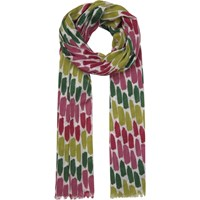 Seasalt Exclusive Brushmarks Pattern Cotton Scarf Multi