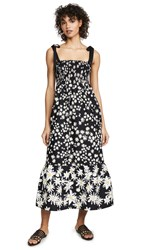 Chinti And Parker Meadow Dress Black