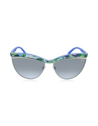 Emilio Pucci Ep0010 Fantasy Acetate Cat Eye Women's Sunglasses