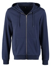 New Look Tracksuit Top Navy Navy Blue Cordes