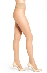 Nordstrom Women's Seamless Sheer Pantyhose Light Nude