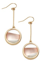 Women's Alexis Bittar 'Lucite Metal' Asymmetrical Drop Earrings Sunset