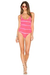 Les Coquines Kaila Reversible One Piece Coral