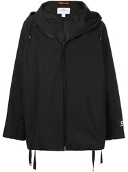 Oamc Zip Hooded Jacket Black
