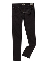 Blend Of America Coloured Wash Low Rise Jeans Black