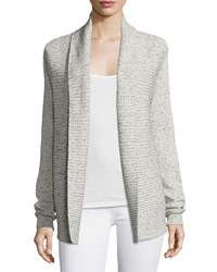 Soft Joie Donda Open Front Ribbed Cardigan Porcelain