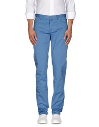 Jaggy Trousers Casual Trousers Men Azure