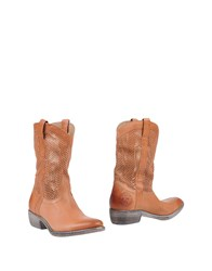 Catarina Martins Ankle Boots Tan