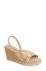 Women's Onex 'Marcia' Wedge Sandal Natural Multi