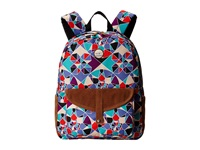 Roxy Carribean Backpack Light Denim Mosaic Mix Up Opt1 Backpack Bags Multi