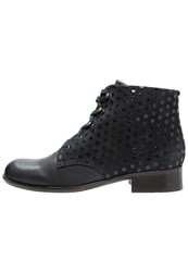 Chie Mihara Canita Ankle Boots Navy Dark Blue