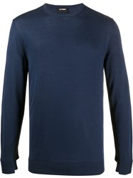 Les Hommes Long Sleeve Fitted Jumper 60