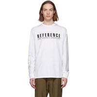Yang Li White 'Samizdat' 'Reference' Long Sleeve T Shirt