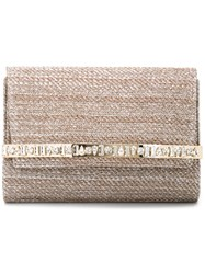 Jimmy Choo Rhinestone Embellished Clutch